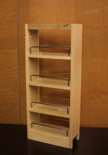 "Kitchen Pull Out Spice Rack 4 Any 9""x30"" Wall Cabinet 