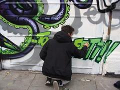Nychos Meeting of styles London 2009 (STEAM156) Tags: streetart london mos graffiti austria travels photos events places walls endoftheline nychos meetingofstyles rabbiteyemovement steam156