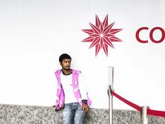 standby (mohamedyamin_masop) Tags: canon100d street people highcontrast logo minimalism whitebackground