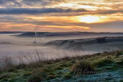 Hope Valley Sunrise (Jason Connolly) Tags: derbyshire derbyshirecountryside hopecementworks hopevalley sunrise cloudinversion
