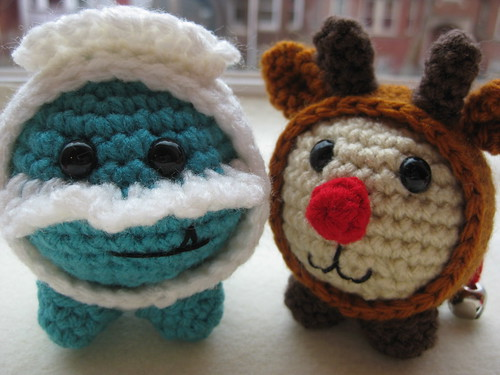 Baby Rudolph and Abominable Snowman