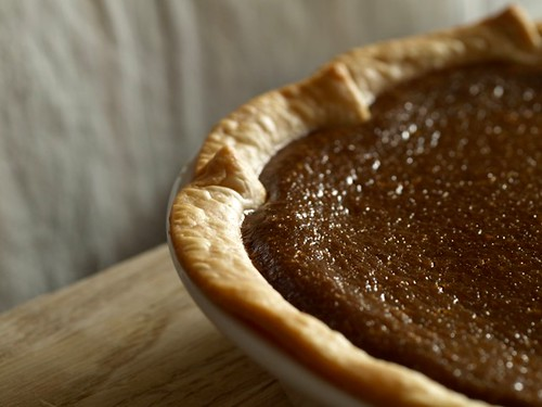 Molasses Pumpkin Pie