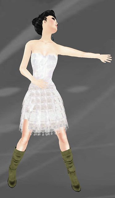 Towa Chiffon Dress not free + Iruco Group Gift!!