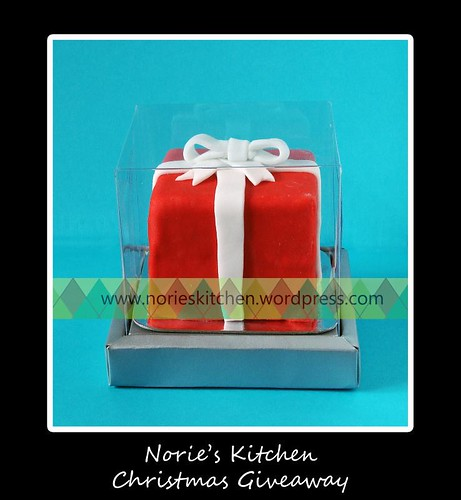 Norie's Kitchen - Christmas Gift box Mini cake