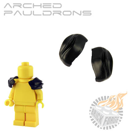 Arched Pauldrons - Black