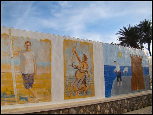 Pinturas Paseo Marítimo Torre del Mar