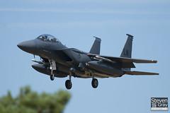 96-0205 - 1343 E215 - USAF - Boeing F-15E Strike Eagle - Lakenheath - 100719 - Steven Gray - IMG_8703