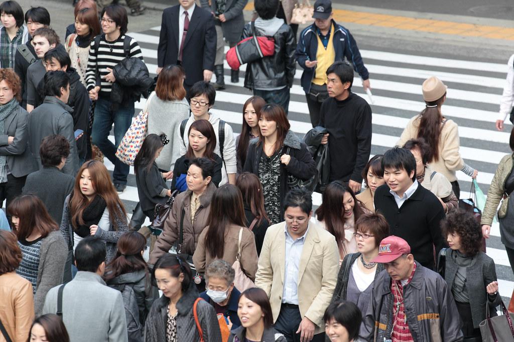 People near Umeda