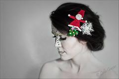White Christmas (Lola from SA) Tags: christmas ireland woman 50mm fuji flash lola sigma pale s5 diamante celbridge fujis5pro s5pro fujis5 lolagavin