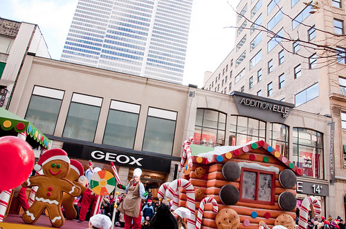 Milana's B-day - Santa Parade 309