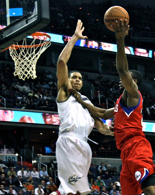 javale mcgee, washington wizards, nba, block shot