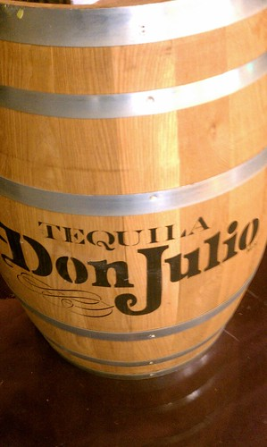 Tequila barrel at Vitamin T in Phoenix