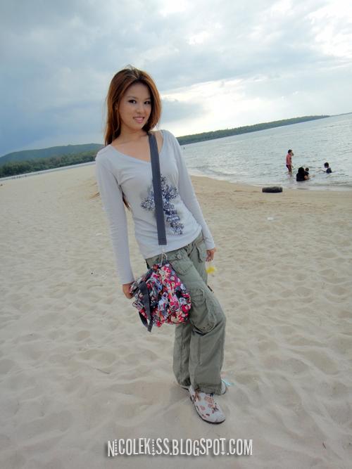 me at samila beach