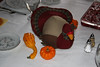 Stuffed turkey and gourds
