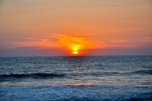Ocaso en la playa (5)