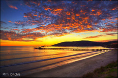 Heavenly Sunset Above Avila (Mimi Ditchie) Tags: sunset clouds pacificocean getty hdr avila gettyimages avilabeach 3xp photomatix theunforgettablepictures coth5 mimiditchie