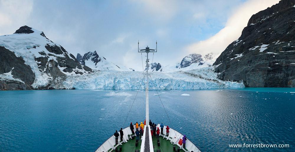 Polar Pioneer, Fjord, Glacier, Drygalski Fjord