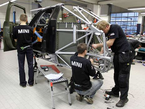 MINI ALL4 Racing X-Raid