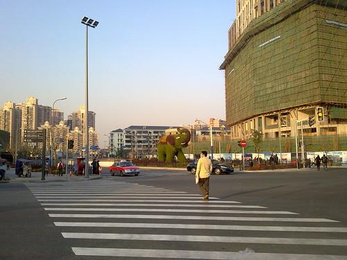 上海駅北口
