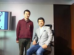 奥山清行氏とツーショット