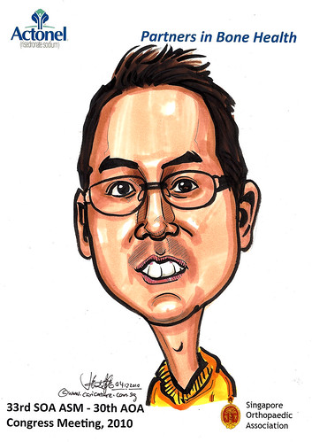 Caricatures for Sanofi-Aventis - 20
