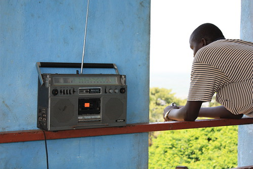 Listening to the radio by S Martin, on Flickr
