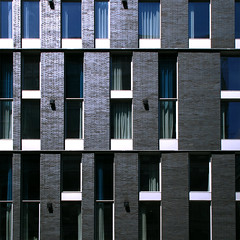 Misalignment (Torganiel) Tags: building window wall architecture facade square geometry montreal 2d 500x500 irregularity g10 torganiel