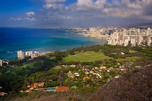 View from Diamond Head on Flickr