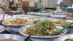 Thai food for sale (Hanumann) Tags: thailand market thai foodthai