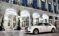 Rolls-Royce Ghost (__martin__) Tags: white paris cars by night nikon nightshot martin ghost rollsroyce carro ritz british tamron spotting exotics supercars carspotting d80 carsightings martincarspictures