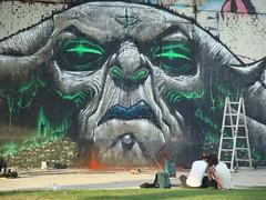 MAGMA (emy mariani) Tags: mural arte emy pintura mariani callejero