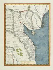 Royaume d'Annan Comprenant Les Royaumes de Tumkin et de la Cocinchine - Designé par les Pères de la Compagnie de Iesus. Paris 1650