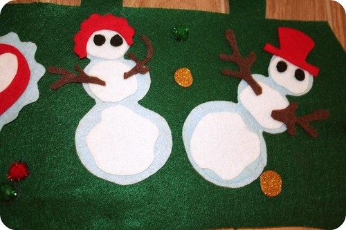 Felty Snow-man& Snow-woman