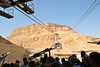 Up to the top of Masada