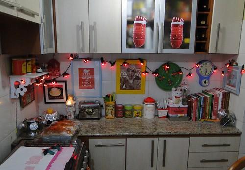 Natal na cozinha
