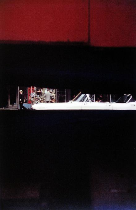 Saul Leiter, Through Boards, 1957