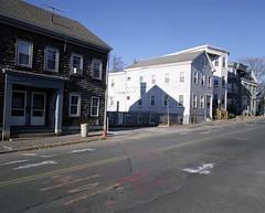 Salem, MA. (Brian Maryansky) Tags: shadow house film salem mamiya7