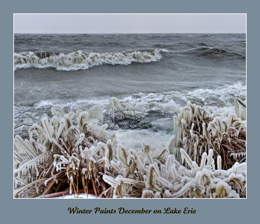 Winter Paints December on Lake Erie