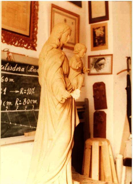 María Auxiliadora sin policromar 2
