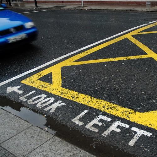Look Left or Follow the Arrow