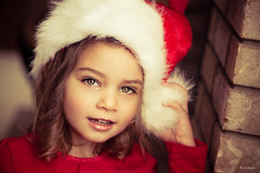 My Little Helpers I (Rebecca812) Tags: santa christmas family red cute brick love girl beautiful hat childhood horizontal glitter kid holding furry fireplace holidays child hand sweet innocent daughter elf hazeleyes santaclause lovely santahat curiosity 34 oneperson helper preschooler canon5dmarkii familygetty2010 rebecca812 gettyholidays2010