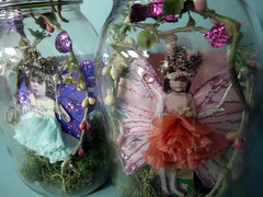 Custom Order: Jar Fairies! 12