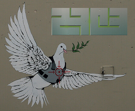 Banksy Dove for 27c3