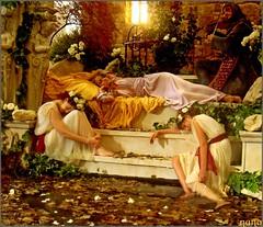 LA  BELLA DURMIENTE (nana <>) Tags: sleeping laura beauty calendar cuento scene bella tale durmiente calendario escena principe saariysqualitypictures flickrsportal