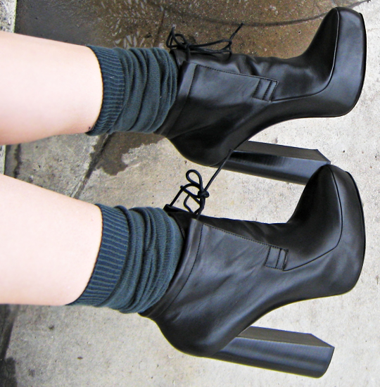 alexander wang ankle boots with socks