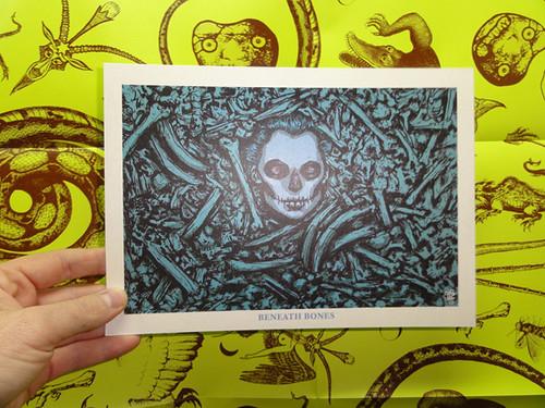 Beneath Bones print