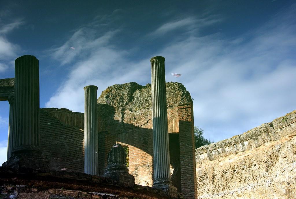 The Maritime Theatre at Villa Adriana
