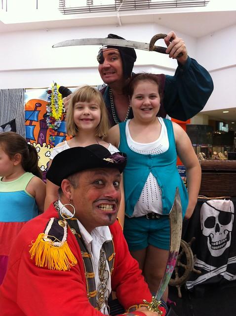 Krazee Pirate kidnapee's