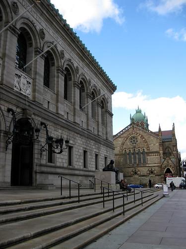 Boston Public Library - McKim Building