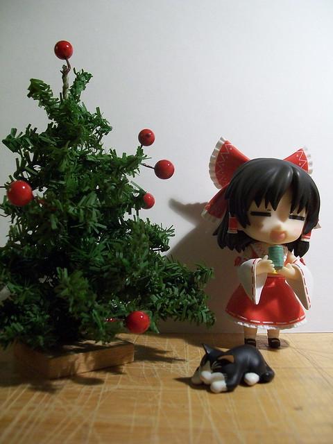Reimu Christmas Tree